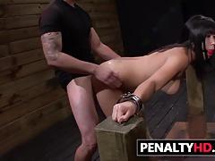 BDSM Humiliation For Cute Mia Li
