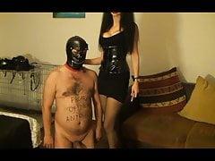 Mistress Antonella  brand her slave