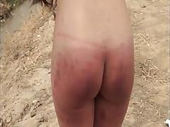 Outside spanking